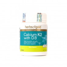Herbs Of Gold Calcium K2 With D3 - Viên Uống Bổ Sung Canxi
